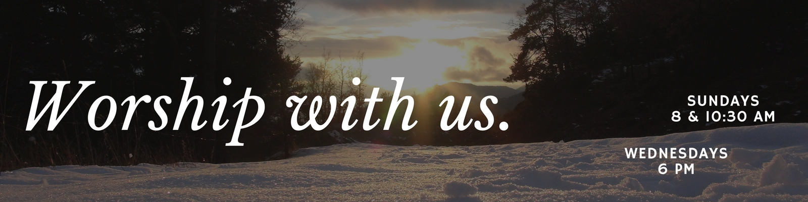 St. John Lutheran Church Ely Iowa Worship With Us This Winter