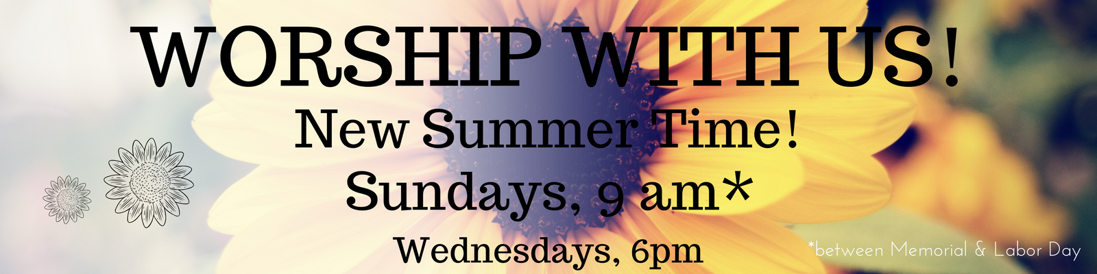 orship With Us This Summer at St. John Lutheran in Ely, Iowa at our new time on Sundays, 9 am from Memorial Day Sunday through Labor Day Sunday