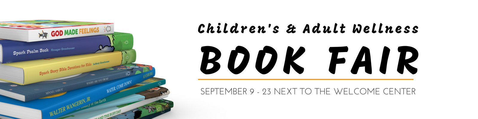 Children's and Adult Book Fair at St. John Lutheran in Ely, IA