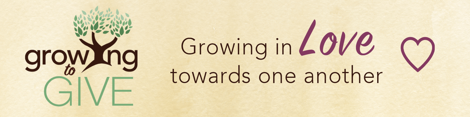 Growing to Love is our emphasis this year in our Growing to Give Capital Campaign at St John Lutheran