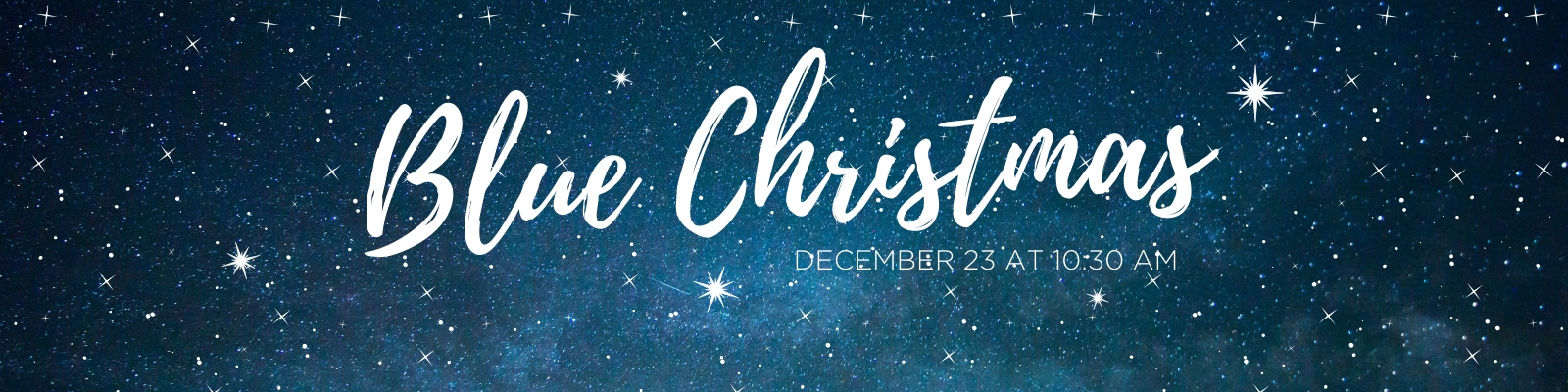 For those who find Christmas time a little difficult, plan to join us for our Blue Christmas service at 10:30 am on December 23 at St John Lutheran in Ely, IA.