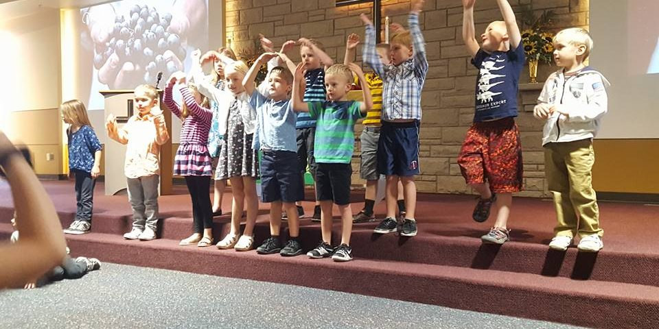 Sunday School Kids Voices for God St John Lutheran Church